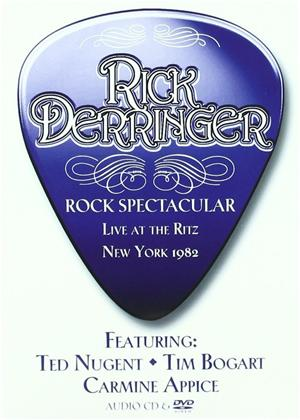 Rent Rick Derringer: Rick Derringer's Rock Spectactular Online DVD Rental