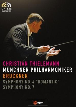 Rent Bruckner: Symphony No. 4 and 7 (Thielemann) Online DVD Rental