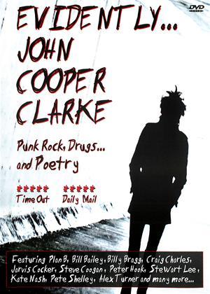 Rent Evidently: John Cooper Clarke Online DVD Rental