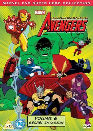 Rent The Avengers: Earth's Mightiest Heroes: Vol.6 Online DVD Rental