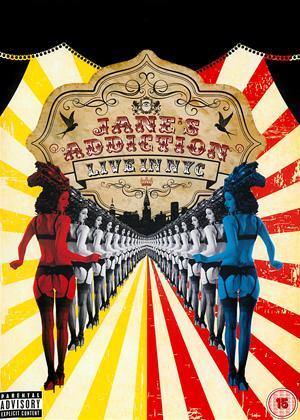 Rent Jane's Addiction: Live in NYC Online DVD Rental