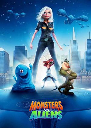 Rent Monsters vs Aliens: Series 1 Online DVD Rental