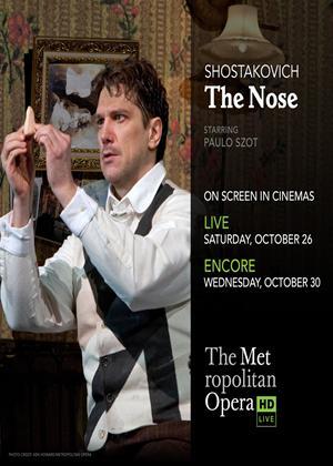 Rent The Nose: Metropolitan Opera (Smelkov) Online DVD Rental