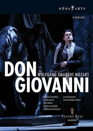 Rent Don Giovanni: Teatro Real Madrid Online DVD Rental