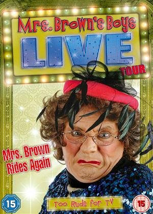 Rent Mrs. Brown's Boys: Live Tour: Mrs. Brown Rides Again Online DVD Rental