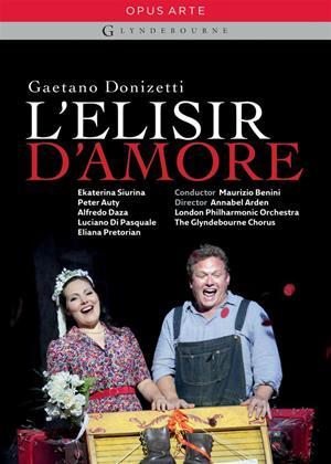 Rent L'elisir D'amore: Glyndebourne Online DVD Rental