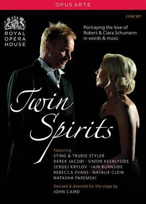 Rent Twin Spirits: Sting Performs Schumann Online DVD Rental
