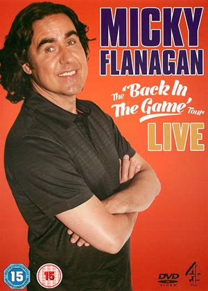 Rent Micky Flanagan: The 'Back in the Game' Tour: Live Online DVD Rental