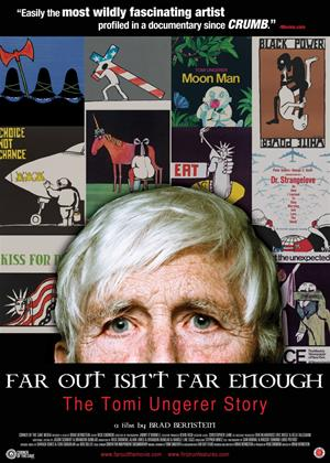 Rent Far Out Isn't Far Enough: The Tomi Ungerer Story Online DVD Rental