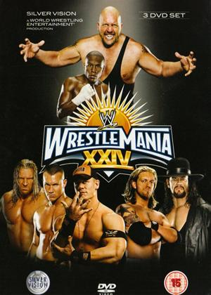 Rent WWE: Wrestlemania 24 Online DVD Rental