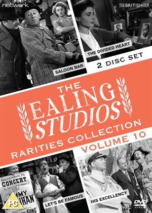Rent Ealing Studios Rarities Collection: Vol.10 (aka Let's Be Famous/The Divided Heart/His Excellency/Saloon Bar) Online DVD Rental