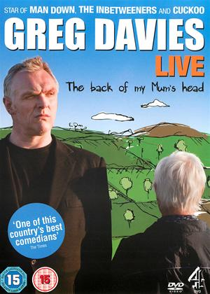 Greg Davies: The Back of My Mum's Head: Live Online DVD Rental