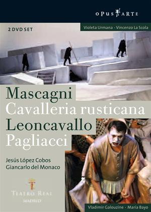 Rent Cavalleria Rusticana / Pagliacci: Teatro Real, Madrid Online DVD Rental