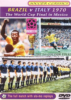 Rent The 1970 World Cup Final: Brazil vs Italy Online DVD Rental