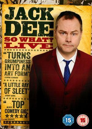 Rent Jack Dee: So What?: Live Online DVD & Blu-ray Rental