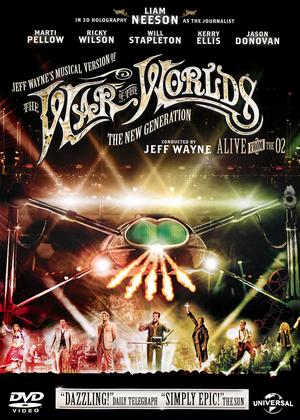 Rent Jeff Wayne's the War of the Worlds: The New Generation: Alive from the O2 Online DVD Rental