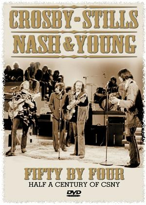 Rent Crosby, Stills, Nash and Young: Fifty By Four Online DVD Rental