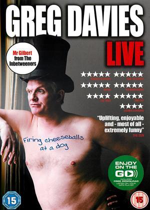 Rent Greg Davies: Firing Cheesballs at a Dog: Live Online DVD Rental