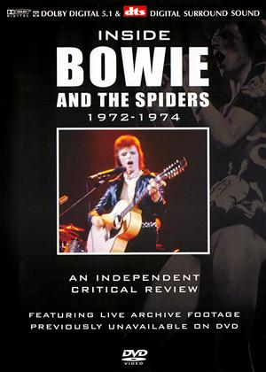 Rent David Bowie: Inside Bowie and the Spiders: 1972-1974 Online DVD Rental
