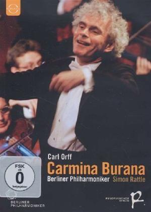 Rent Carmina Burana: Berlin Philharmonic Orchestra (Rattle) Online DVD Rental