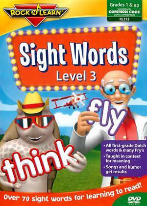 Rent Rock N Learn: Sight Words: Level 3 Online DVD Rental