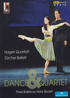Rent Dance and Quartet: Three Ballets by Heinz Spoerli... Online DVD Rental