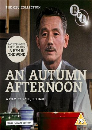 An Autumn Afternoon/A Hen in the Wind Online DVD Rental