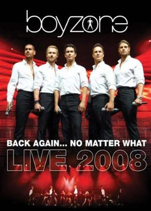 Rent Boyzone: Back Again: No Matter What: Live 2008 Online DVD Rental