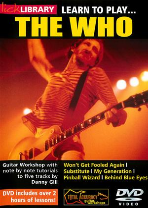 Rent Learn to Play: The Who Online DVD Rental