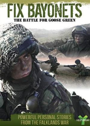 Rent Fix Bayonets: The Battle for Goose Green Online DVD Rental