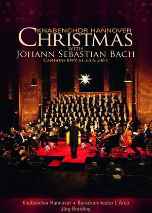 Rent Knabenchor Hannover: Christmas With Johann Sebastian Bach Online DVD Rental