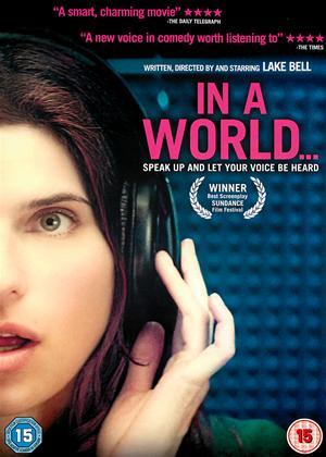 Rent In a World Online DVD & Blu-ray Rental