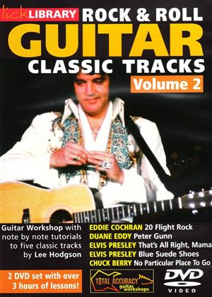 Rent Lick Library: Rock and Roll Guitar Classic Tracks: Vol.2 Online DVD Rental