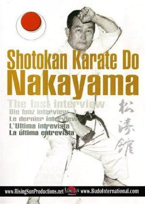 Rent Shotokan Karate Nakayama: The Last Interview Online DVD Rental