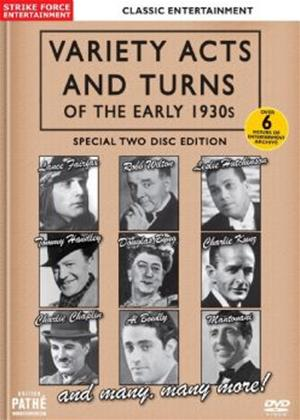 Rent Variety Acts and Turns of the Early 1930s Online DVD Rental