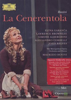 Rent La Cenerentola: Metropolitan Opera (Maurizio Benini) Online DVD Rental