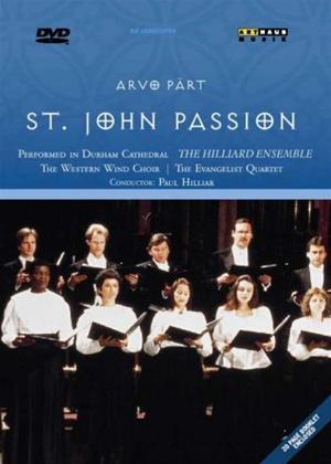 Rent Arvo Part: St. John Passion Online DVD Rental