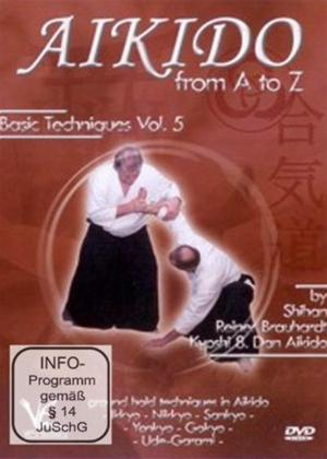 Rent Various: Aikido from a to Z: Basic Techniques: Vol.5 Online DVD Rental