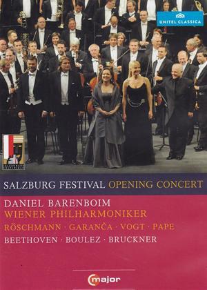 Rent Salzburg Festival Opening Concert 2010: Vienna Philharmonic (Daniel Barenboim) Online DVD Rental