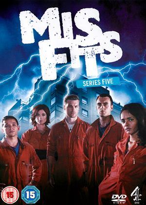 Rent Misfits: Series 5 Online DVD Rental