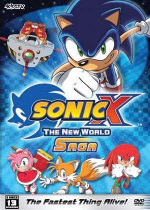 Rent Sonic X: New World Saga Online DVD Rental