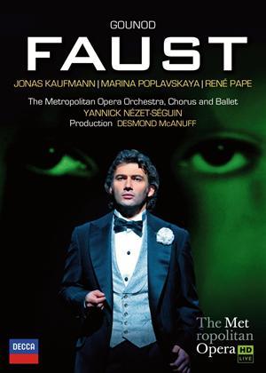 Rent Faust: Metropolitan Opera (Nézet-Séguin) Online DVD Rental