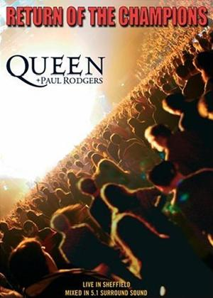 Rent Queen and Paul Rodgers: Return of the Champions Online DVD Rental