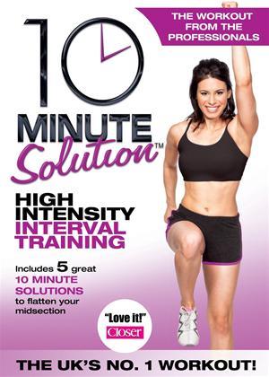 Rent 10 Minute Solution: High Intensity Interval Training Online DVD Rental