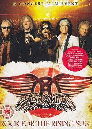 Rent Aerosmith: Rock for the Rising Sun Online DVD & Blu-ray Rental