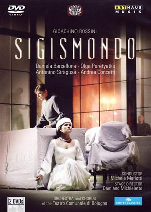 Rent Sigismondo: Rossini Opera Festival (Mariotti) Online DVD Rental
