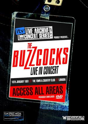 Rent The ITV Live Archive Concert Series: Buzzcocks Online DVD Rental