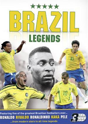 Rent Brazilian Football Legends: Ronaldo, Ronaldinho, Kaka, Pele, Rivaldo Online DVD Rental