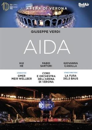 Rent Aida: Arena Di Verona (Meir Wellber) Online DVD Rental