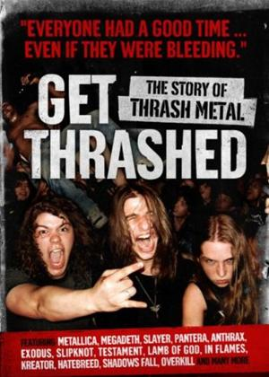 Rent Get Thrashed: The Story of Thrash Metal Online DVD & Blu-ray Rental